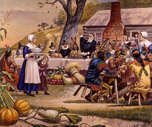 The First Thanksgiving. Image: Web